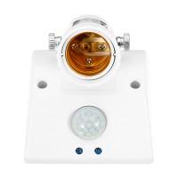 Top Brand E27 60W PIR Motion Sensor Bulb Adapter Delay Time