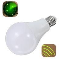 Top Brand E27 9W 24LEDs Pure White Radar Sensor Light Bulb Car