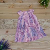 Best Dress Piyama Anak Baju Tidur Perempuan Satin Import - Size 9,