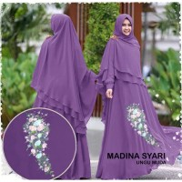 Baju Maxi Dress Wanita Gamis Muslim Syari Jubah Muslimah Murah Terbaru