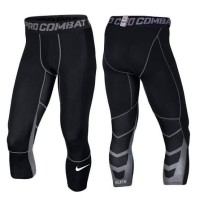 Nike Pro Combat NPC Celana Panjang Sebetis / Longpant 3/4 Basket Elite