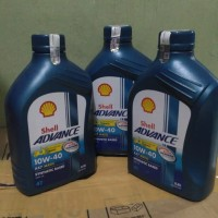 oli mesin shell ax7 ukuran 0.8 ltr for all motor matic