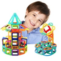 Big Size Magnetic Blocks Construction Building Toys Magnetic