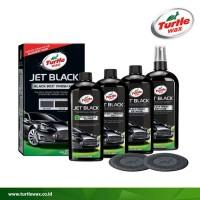 Kualitas Premium Turtle Wax JET BLACK - Black Box Finish Kit