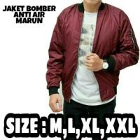 Jaket bomber M,L,XL,XXL anti air (WAME)