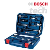 Hand Tool Kit All-in-One Bosch 108 Piece Multi Function - Perkakas