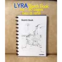 ATK0667LR A4 Sketch Book LYRA 9210260 buku sketsa gambar bisa refill