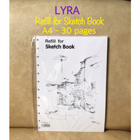 ATK0668LR refill A4 Sketch Book LYRA 9211260 isi ulang buku sketsa