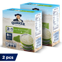 Quaker 3in1 Matcha Box 4 Sachets - Twin Pack