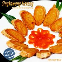 Shrimp Roll / Hekeng / Hakong / Gohiong Singkawang TERENAK (3 Roll)
