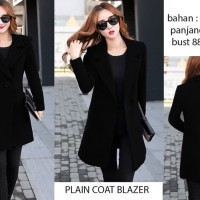 plain Coat Blazer (W354)