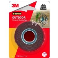 3M Scotch Double Foam/Double Tape VHB Mounting Outdoor 4011