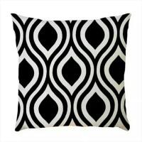 Custom SARUNG Bantal sofa Printing 40*40 monochrome A