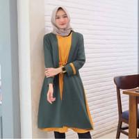Baju Tunik Wanita Terbaru - Tamara Long Combi Murah Kekinian