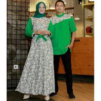 Baju Busana Muslim Gamis Couple Pria Wanita TITANIA