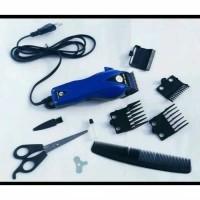pro clipper HK900 / alat cukur rambut listrik lengkap 1 set
