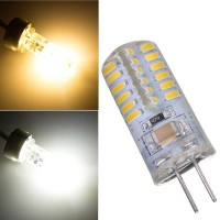 Top Brand G4 2.6W Warm White/Pure White 48 SMD 3014 LED Light Bulb
