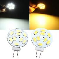Top Brand G4 2W White/Warm White 9 SMD 5730 LED Light Lamp Bulb