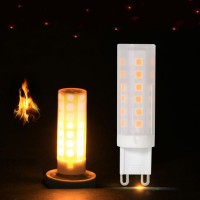 Top Brand G9 2W 5050 SMD 1500K Warm White Single Mode LED Corn Bulb