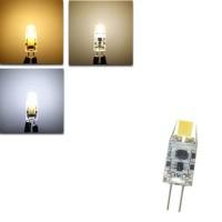 Top Brand G4 1.2W LED Bulb 120Lm COB Pure White Warm White Natural