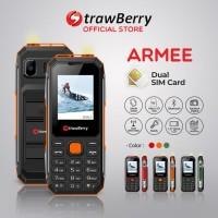 Strawberry – Armee   Handphone Candybar HP Murah Kamera Speaker
