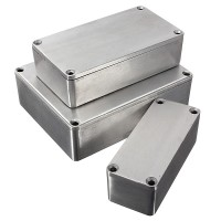 Top Brand 1590 Series Aluminium Stomp Case Enclosure Guitar Effect