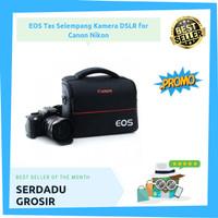 Tas Selempang Kamera Camera DSLR EOS for Canon Nikon Premium Quality