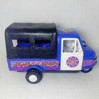 HOT SALE bemo kendaraan klasik unik jadul mainan anak mobil mobilan