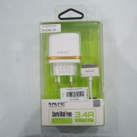 Travel Charger 2 USB Altic DL-AC52 for iPhone 4G