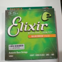 Elixir 14502 - Senar Bass 4 String 045-100- Original Anti Karat
