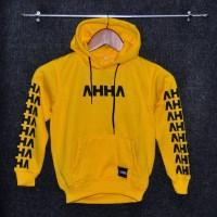 Jaket hoodie ahha kids / sweater ahha kids / jaket anak
