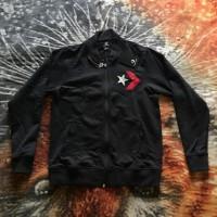 Converse Baseball jacket mixed black red