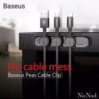 Baseus Cross Peas USB Cable Clip Holder Organizer