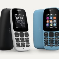 HP Nokia 105 Dual Sim 2019 (4th Gen) Resmi Handphone Senter Mini Murah