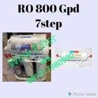 Mesin RO 800 Gpd 7 Step Filter Air Minum Reverse Osmosis UK Hexagonal
