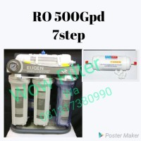 Mesin RO 500 Gpd 7 Step Reverse Osmosis Filter Air Minum Hexagonal