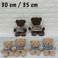BONEKA BERUANG TEDDY BEAR BOY SWEATER - 35 CM