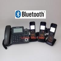 Telepon Wireless Panasonic KX-TGF383 (3 handset) Answering Machine