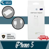 Aldora Charger IPhone 5 / 6 / 7 / 8 / X Usb Premium Quality - Putih
