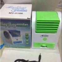 Ns08 - New Ac Duduk Mini Portable Fragrance Handy Cooler Bladeless Fan