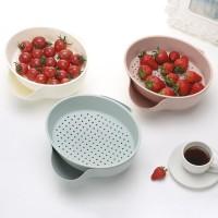 New Style Double Layered Detachable Plastic Fruit Melon Drain