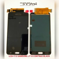 LCD SAMSUNG J710 CONTRAS BLACK+T/S (GALAXY J7 2016)