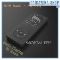 MP3 Player LCD E-Book FM Radio Clock 8GB HiFi DAP