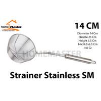 Saringan/Tirisan Mie Multifungsi Stainless 14 Cm - SM14