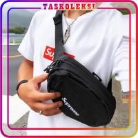 PROMO 💥 TK 💥 SLING BAG SUPREME NEW MODEL IMPORT MURAH BATAM TAS