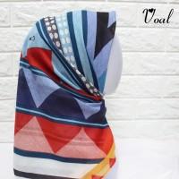 [JAHIT TEPI] Voal motif Segiempat 120x120cm | deenay kaw