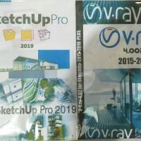 Sketchup 2019 plus vray 4.002