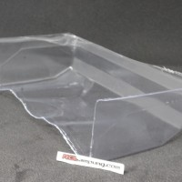 RC CAR CASTER RACING CLEAR WING ONLY 1/10 BUGGY [SK106-WC]