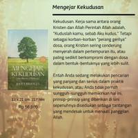 BUKU MENGEJAR KEKUDUSAN - JERRY BRIDGES TERJEMAHAN INDONESIA