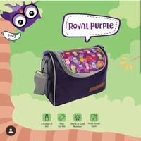 Cooler bag papamama/free ice gel 500ml/tas/perlengkapan bayi/botol asi